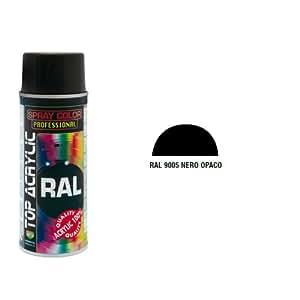 Spray Nero Opaco Ral9005