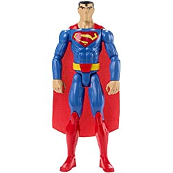 Batman - Figura Superman Justice League Action, 30 cm (Mattel FBR03)
