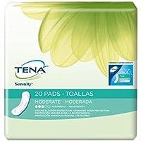 Special 6 packs of Tena Serenity Bladder Pads - Moderate - 20 per pack - J & J 41300 by med-J & J preisvergleich bei billige-tabletten.eu