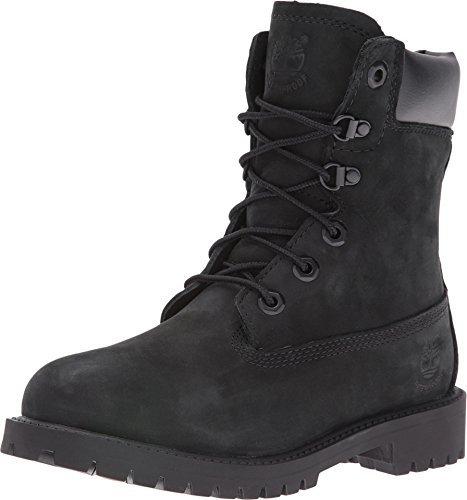 Timberland Boys  8  Waterproof Premium Fashion Boot  Black Full Grain  6 5 M US Big Kid