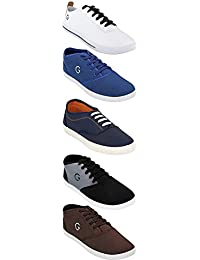 Globalite Shoe For Men Stylish Casual Combo Shoes For Boys (Combo Of 5 Shoes)