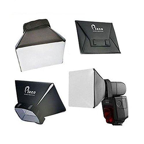 Cewaal Blitz Diffusor Licht Softbox, 1pc Einzellinse Reflex Kamera Foto Softbox Blitz Diffusor Lumiquest Zubehör