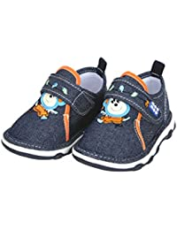 Mee Mee First Walk Baby Shoes with Chu Chu Sound Navy