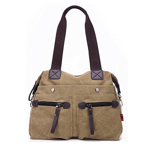 Borsa di tela di moda donna/borsa a tracolla Incline/Spalla Pack femminile Joker/Bulk-semplice borse-A
