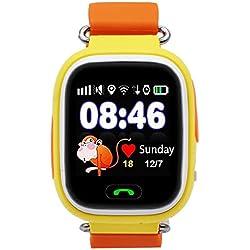 9Tong - Reloj GPS infantil, Conectividad GSM/GRPS, mensajeria, chat de voz, camara, linterna, podometro