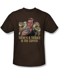 Star Trek - Mens Coffee Tribble T-Shirt In Coffee