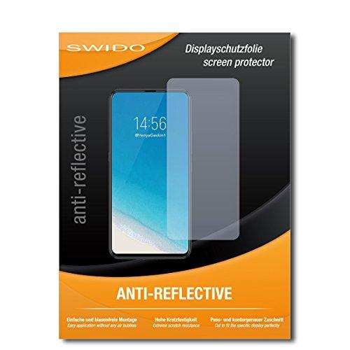 SWIDO Schutzfolie für Vivo NEX S [2 Stück] Anti-Reflex MATT Entspiegelnd, Hoher Härtegrad, Schutz vor Kratzer/Bildschirmschutz, Bildschirmschutzfolie, Panzerglas-Folie