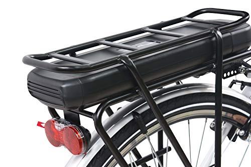F.lli Schiano E-Moon 28'' bici elettrica bianca