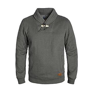 BLEND Aleko Men's Sweatshirt, size:M;colour:Pewter Mix (70817)