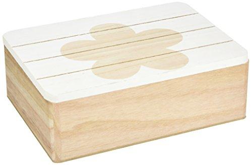Heitmann Deco - Holz-Schachtel - zum Aufbewahren von kleinen Dingen, Schmuck, als Tischdeko und Aufbewahrungsbox (Holz-schachteln)