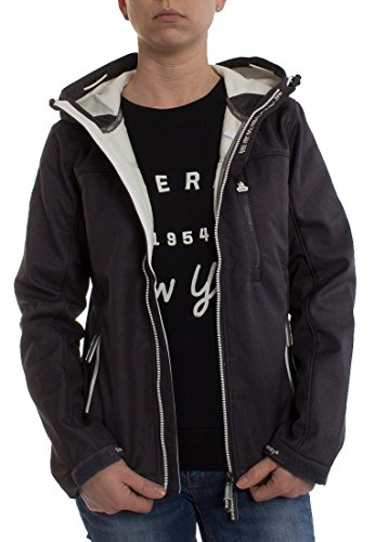 SUPERDRY Hooded Windtrekker, Veste Homme gris moyen