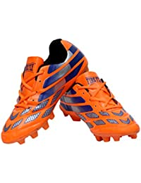 5afba2e2a 3M Firefly Messi Orange Sports Football Cleats Soccer Men's With TPU Sole  Closer Type Lace Up