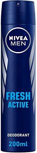 NIVEA MEN Fresh Active, Antiperspirant for Men, Fresh Scent, Spray 200ml