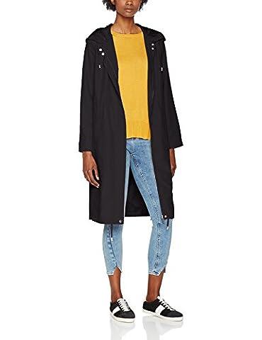 New Look Women's Cuddles Drawstring Jacket, Black, 8