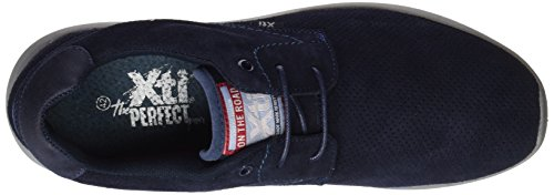 XTI Herren 047078 Low-Top Blau (Navy)