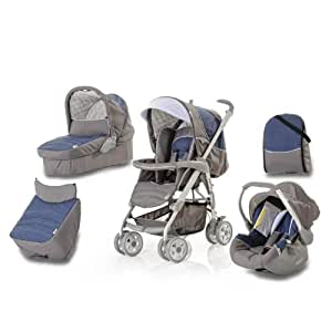 Hauck Condor All-in-One Travel System - Jeans