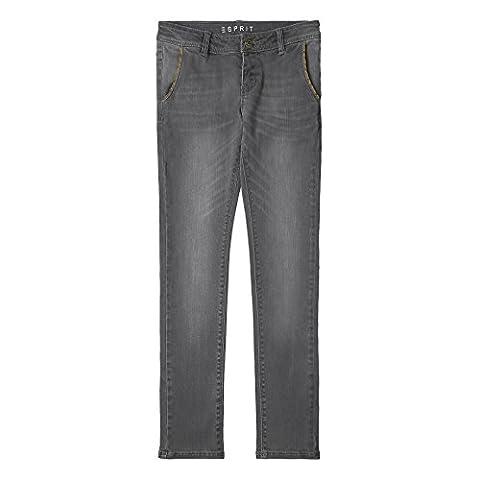 ESPRIT Mädchen Jeans RJ22025 Grau (Grey Denim 213),