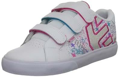 Etnies Fader Vulc Strap White Fashion Sports Skate Shoe 4301000091 13.5 UK Junior, 1.5 US