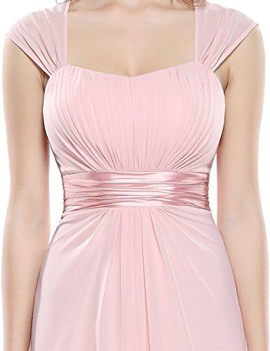 Ever Pretty Robe de Soirée Robe de la Demoisellle d'honneur Empire 08834 Rose