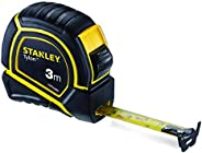 STANLEY STHT43066-12 Tylon 3 Meters Measurement Tape in Rugged Rubber Case
