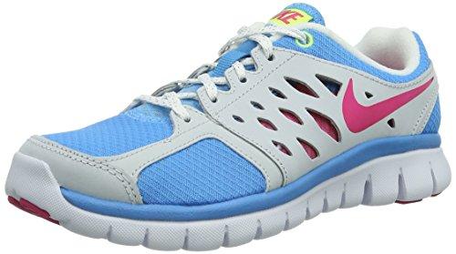 Nike Flex 2013 Rn (Gs) 579971-403 Mädchen Laufschuhe Blau (Vvd Blue/Vvd Pnk-Vlt Ic-White) 38.5