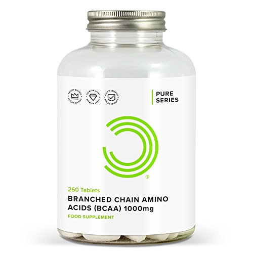 41lMZFVaA0L. SS500  - BULK POWDERS Pure Branched Chain Amino Acid Tablets, 1000 mg, Pack of 250