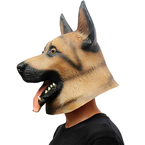 Halloween Party Party Maske Latex Wolf Hund Styling Haube Show Tierform Maske DIY Rollenspiele