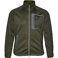 Seeland Mens Hawker Storm Warm Fleece Coat Jacket Pine Green - Easy Stretch