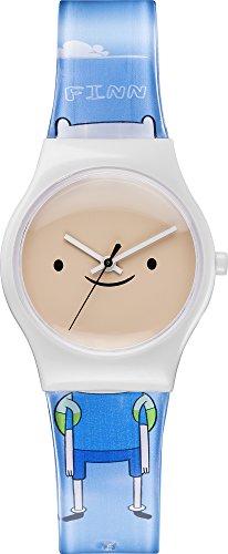 Adventure Time ADT3 - Reloj de Cuarzo Unisex Infantil, con Correa de plástico