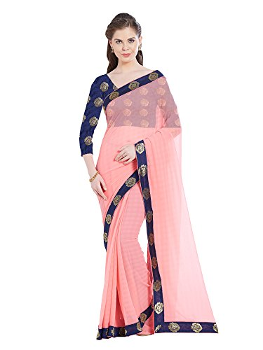 Viva N Diva Saree For Women's new collection party wear Light Peach...
