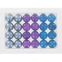 Caja de 24 Fantasía baño perlas - fresco Trio