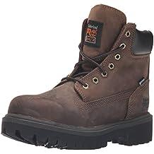 """Timberland Pro 38021bastidor 6""""punta de acero color marrón botas"""