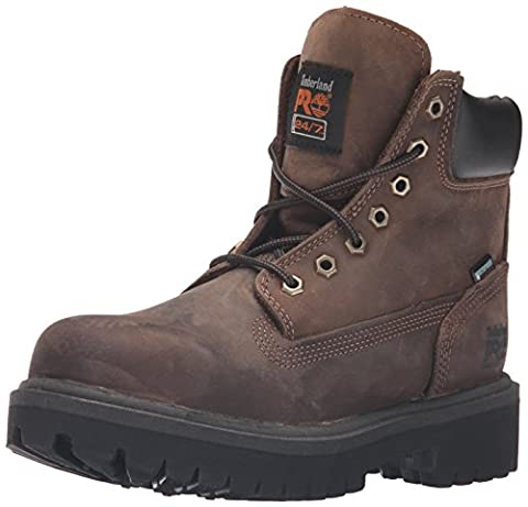 Timberland PRO Men's 38021 Direct Attach 6 Steel-Toe Boot,Brown,14 W