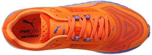 Puma Speed 500 Ignite Pwrcool, Scarpe da Corsa Uomo Arancione (Orange Clown Fish-french Blue 01)