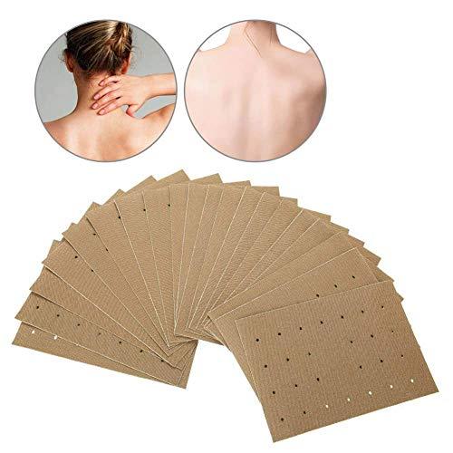 Wärmepflaster Selbsterhitzungs Patch, 20 Stück natürliches Abziehbild Moxibustion Moxibustion-Patch Halten Sie Ihre Körperteile heiß Paste Hals Schulter Rückenschmerzen