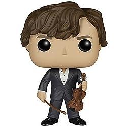 POP! Vinilo - Sherlock: Sherlock Holmes w/ Violin