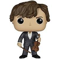 FunKo POP! Vinilo - Sherlock: Sherlock Holmes w/Violin