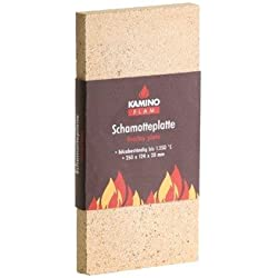 Kamino - Flam 333323 Plancha de Vermiculita Marrón 30x20x3 cm