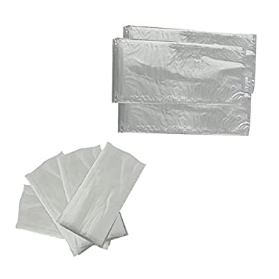 MagiDeal 100pcs 60x120mm & 70x150mm PVA Carp Fishing Bags Quick Water Soluble Baits Bag for Solid Baits Carp Fishing Accessory Tools from MagiDeal