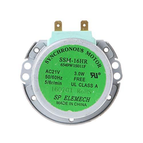 Congchuaty 50 / 60Hz AC21V 3W Horno síncrono Microondas