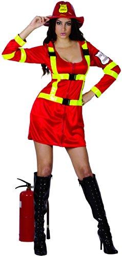 Feuerwehr-Kostüm für Frauen