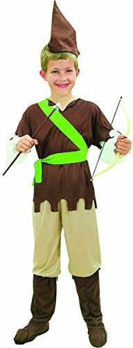 Kinder Fancy Club Party Jungen Buch, Woche Tag Robin Hood Komplettes Kostüm nur UK