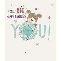 Lots of Woof Umbrella Birthday Card