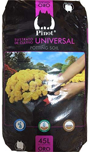 PINOT Turba sustrato de Cultivo Humus Corteza Pino 45 L substrato Premium
