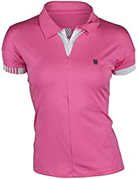 K-swiss performance Polo 66 shocking pink/white