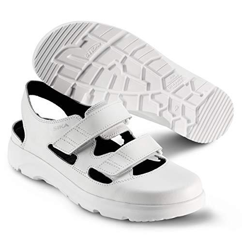 Sika Sika 173105 Optimax Sandale OB SRA - Weiß - Gr. 35