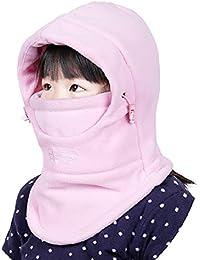 6af3335fa6d93d Azarxis Kids Balaclava Hat Fleece Ski Face Mask Winter Cap Adjustable  Double Neck Warmer for Boys