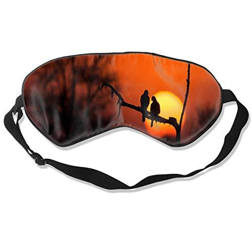 Miedhki Unisex Sleeping Eye Mask Sunflower Tattoo Eye Mask Cover with Adjustable Strap Blindfold Eyeshade for Travel, Nap, Meditation Fashion13