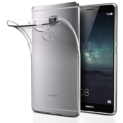 Huawei Mate S Funda, iVoler TPU Silicona Case Cover Dura Parachoques Carcasa Funda Bumper para Huawei Mate S, [Ultra-delgado] [Shock-Absorción] [Anti-Arañazos] [Transparente]- Garantía Incondicional de 18 Meses