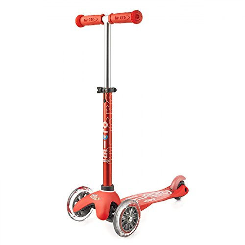 Micro Mini Deluxe Kinderscooter, Rot